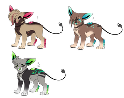 new species Adoptables by Searii