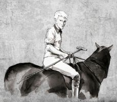 Polo Player Draco by raitala
