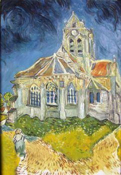 reproduction vincent van gogh oilpainting by ahmetbroge