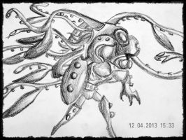evolution launch octopus! by tong669982