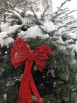 Snow Covered Wreath by Dreamer113