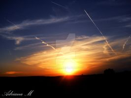 Sunset III by Amatrice