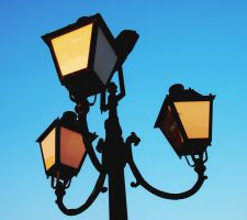 Street lamps by ilonytestal1995