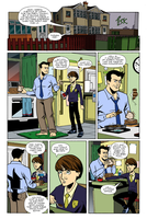 The Sundays page 1 lettered by ScottEwen