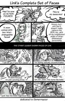 Link's Complete Set of Faces by Elf-chuchu