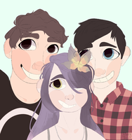 dan, phil andd hibiscus lime by 1issy
