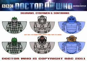 Doctor Who - Enemies by mikedaws
