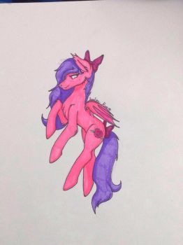 My sketch from yesterday finished ^-^ by EvelynRose14