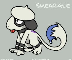 Smeargle Again by anniemae04