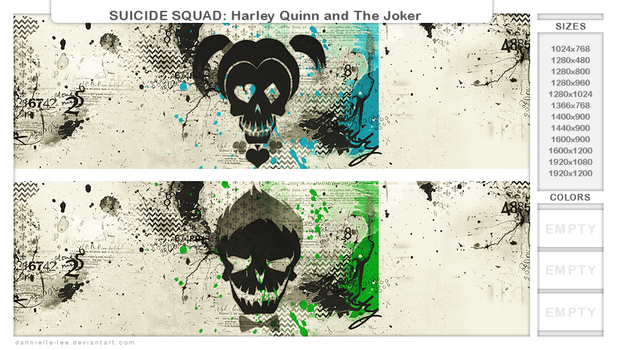 SUICIDE SQUAD: Harley Quinn and The Joker by dannielle-lee