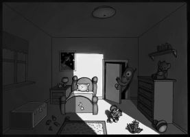 Monster in the Closet by KteaCrumpet