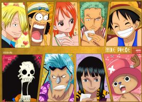 One Piece StrawHat Crew by Eguiamike