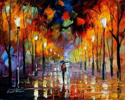 Dreams oil painting on canvas by L.Afremov by Leonidafremov