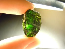 Green Tourmaline by A-Sharper-Spectrum