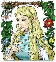 Galadriel, original colour by Ginjirou