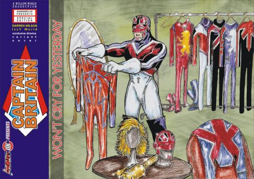 Avengers UK Presents - Captain Britain by willow616