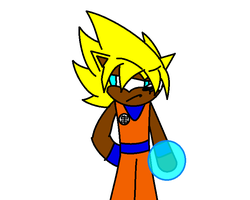 Goku Costume by DavidTH90Animations