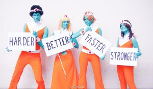 Harder, Better, Faster, Stronger by Erendrym
