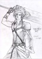 Cloud Strife AC version by JohnRamb0