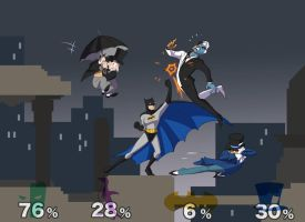 Super Batman TAS Melee by olafpriol