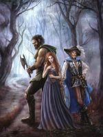 Shara and the Haunted Village  Cover by Imperess
