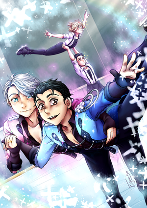 Yuri!!! On Ice - Stay Close to Me by Egao-ho
