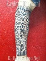 Geometric Tattoo Forearm by kayden7