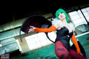 Darkstalkers, Aensland Morrigan by Ariichuu