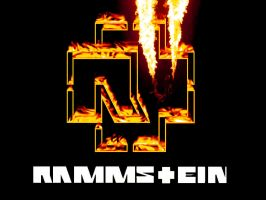 Rammstein Burning Cross by pixlkila