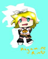 Kagamine Rin Chibi by Purpl3Surreal