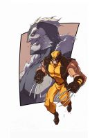 Wolverine sabertooth by Anny-D