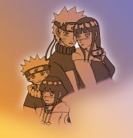 NaruHina:Together NowandThen 2 by mattwilson83