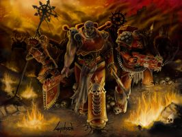 Chaos Space Marines - Warhammer 40k by Linblack