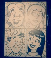 Archie comics by Ctrevino313
