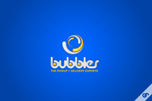 Bubbles Logo by dFEVER