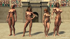 Daughters of the Jungle by plinius