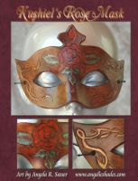 Kushiel's Rose Mask II by Angelic-Artisan