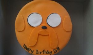 "JAKE THE CAKE ""BF BDAY CAKE"" by VaneChu"