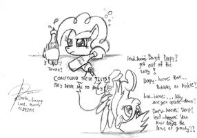 They drive me to pony by leadhooves