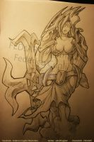 Drawing Sivir by FEDsART
