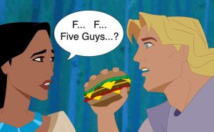 Five Guys Colored Version by Pikahontas