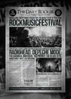 Grunge Newspaper Poster Template by IndieGround