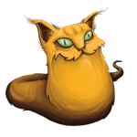 Mika the Catworm V1 by WladART