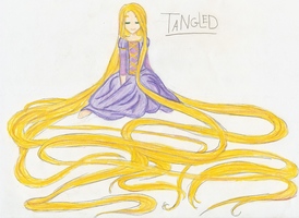 Tangled by ChibiOlivia