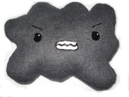Otakumals- Angry Cloud Plushie by EsperAqua
