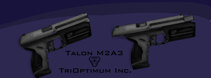 Talon M2A3 from System Shock 2 by Spatzik