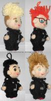 Depeche Mode Amigurumi by LilliamSlasher