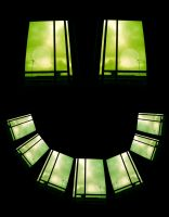 The Smiling morning window by mad-dame