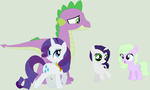 My Headcanon Future: Rarity and Spike by Lost-Our-Dreams