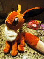 Eevee plush (FOR SALE) by LordBoop